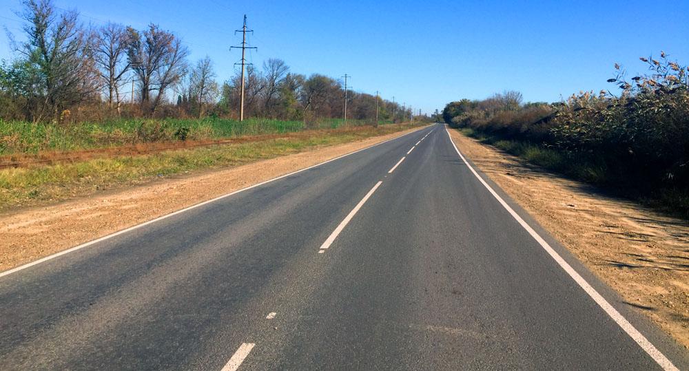 Новая дорога к АО Силикат через посёлок Гирей