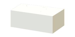 Камень силикатный полнотелый